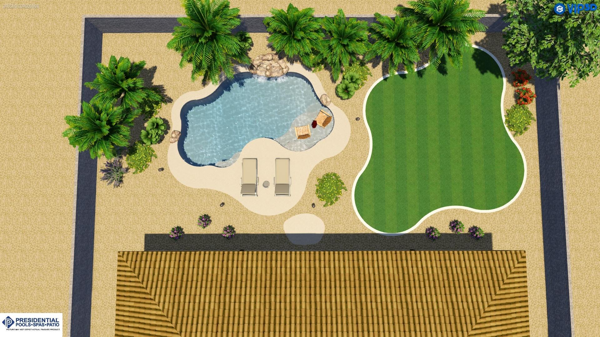 Arizona Swimming Pool Layout