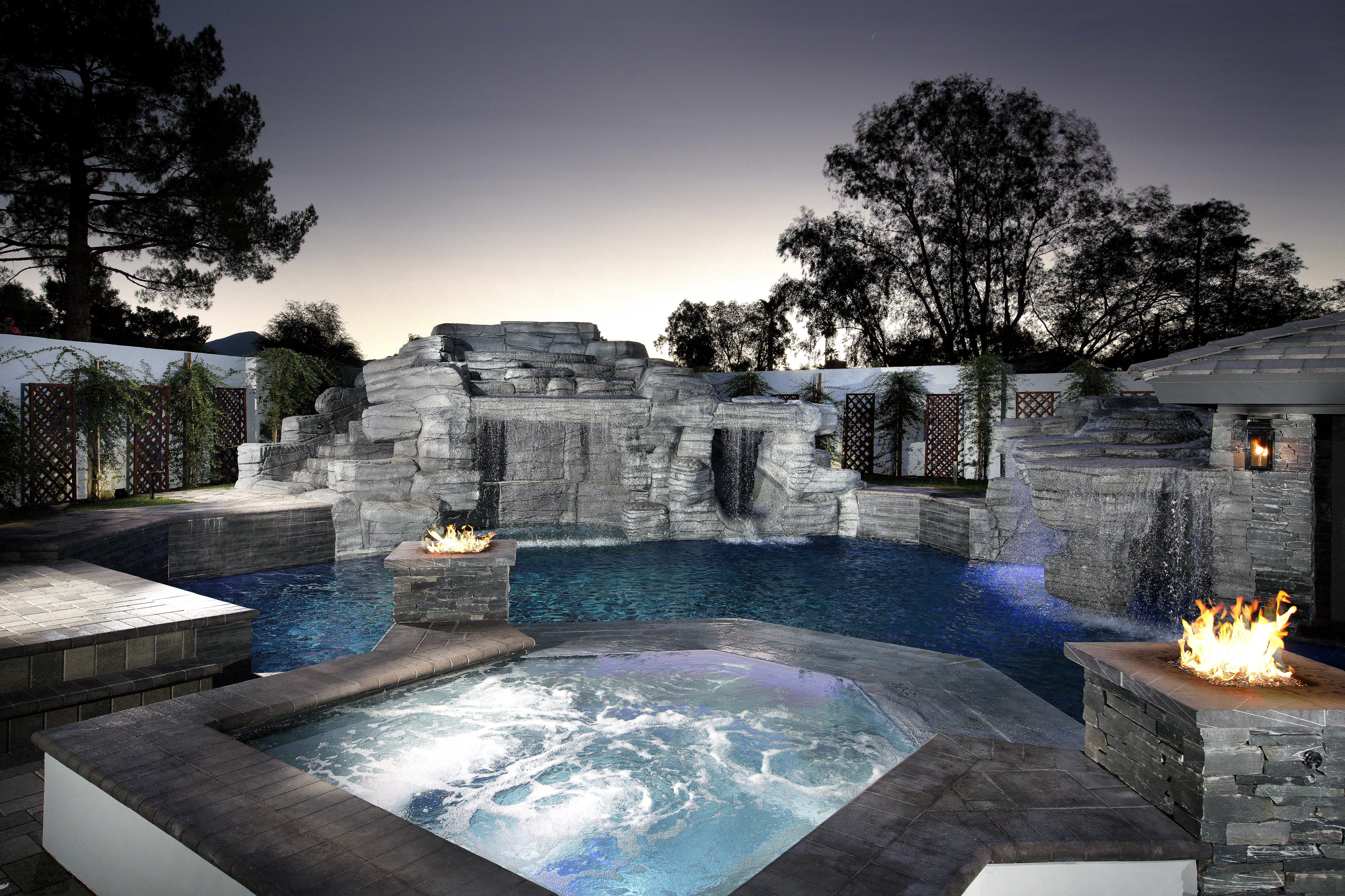 The Grotto Pool design by Presidential Pools