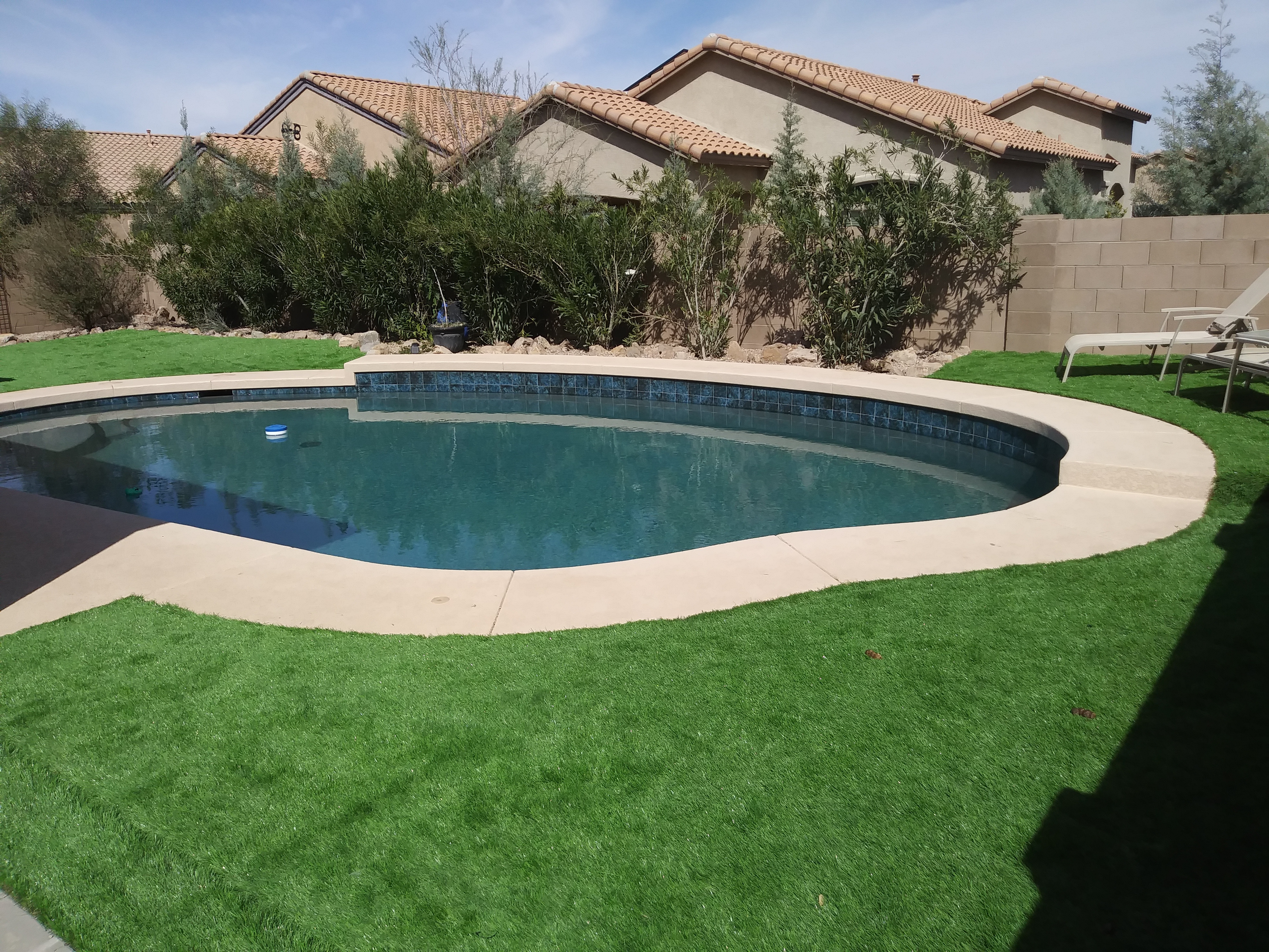 Pool Build Highlight: The Cross Family of Marana, AZ