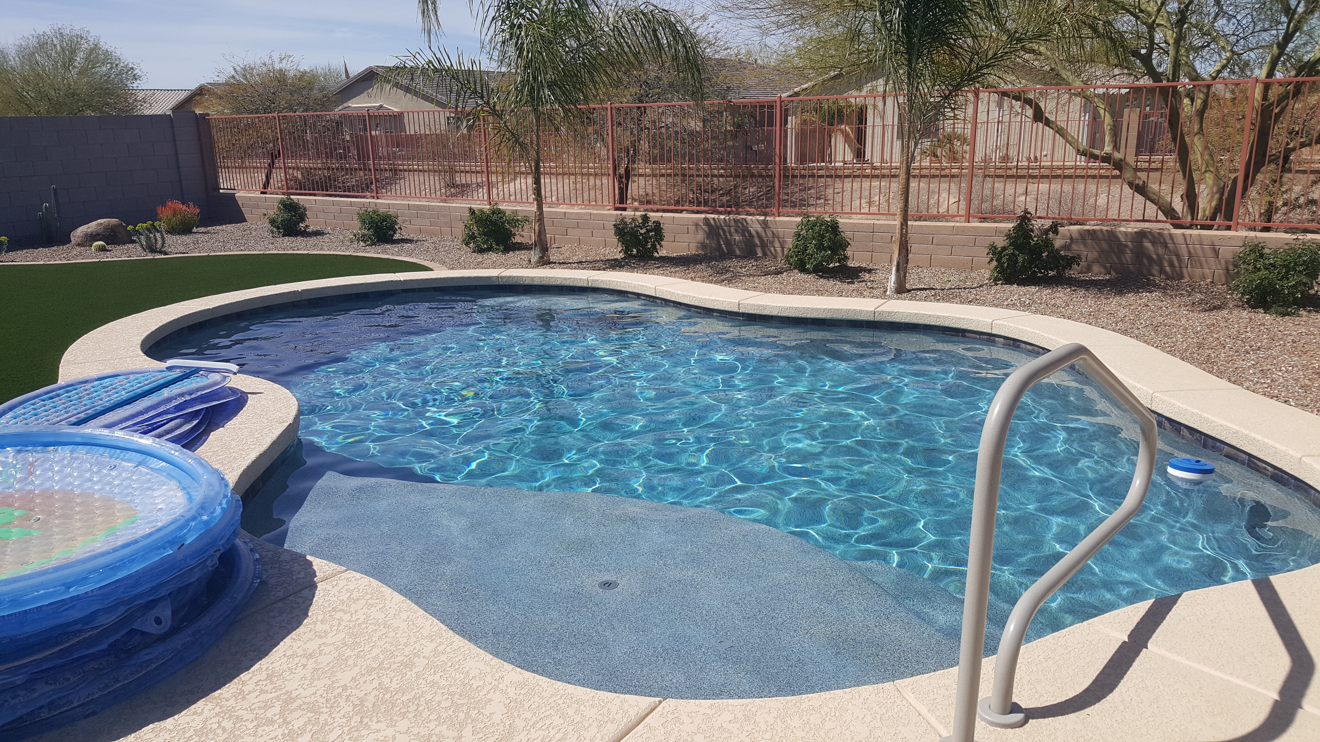 Pool Build Highlight: The Dellinger Family of Queen Creek, AZ