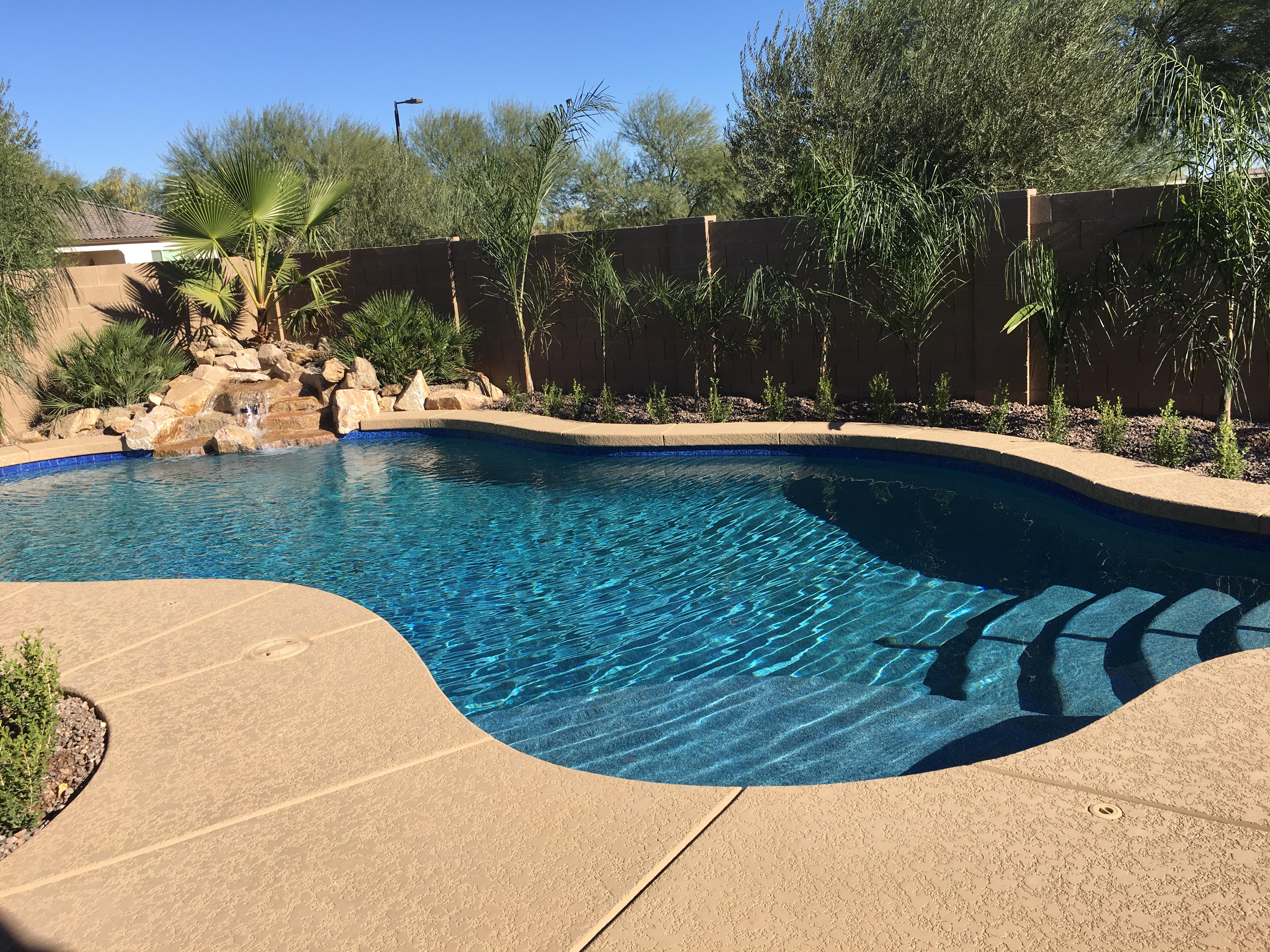 Pool Build Highlight: The Tyler Family of Chandler Heights, AZ