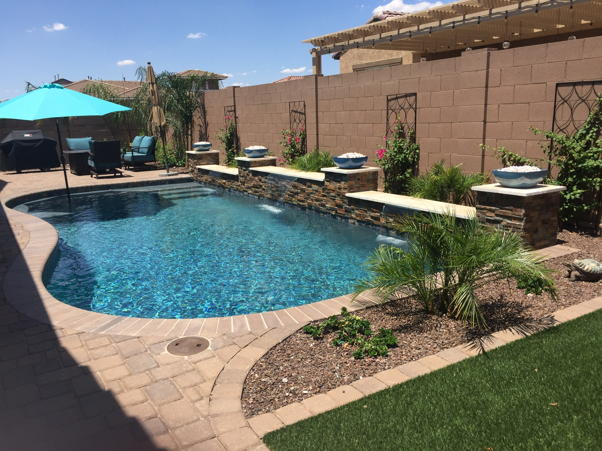 Pool Build Highlight: The Lickar Family of Mesa, AZ