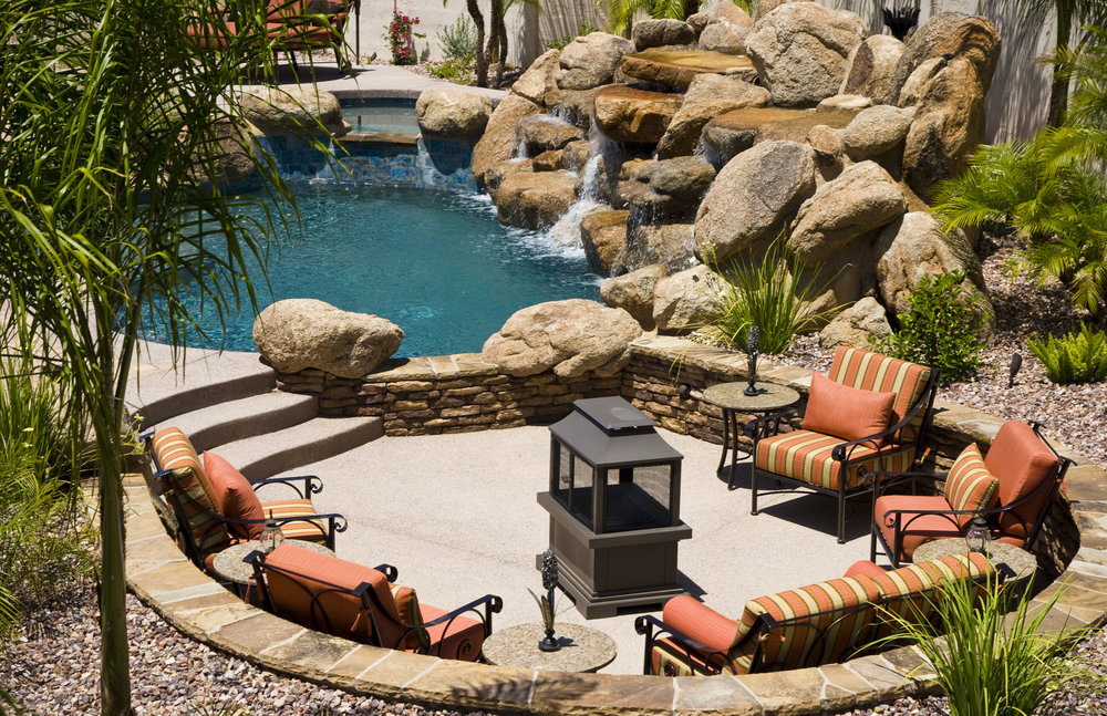 Fall In Arizona Allows You To Combine Two Awesome Activities Watching Football And Pools Whether Have A Television With Your Backyard Patio Or The