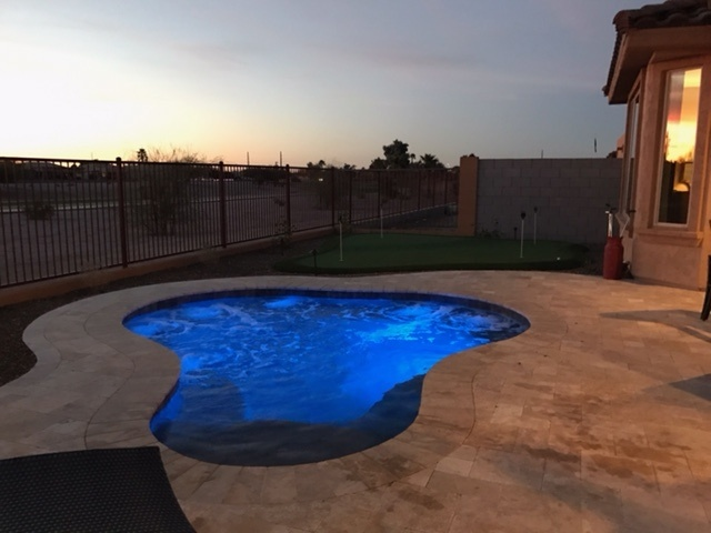 POOL BUILD HIGHLIGHT: THE FISK FAMILY OF CHANDLER, ARIZONA