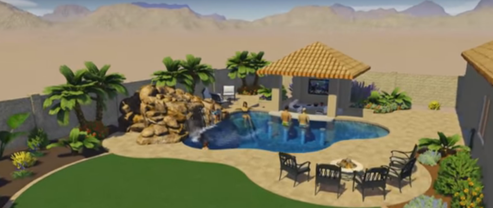 Three of our favorite 3d pool designs for Design my own pool
