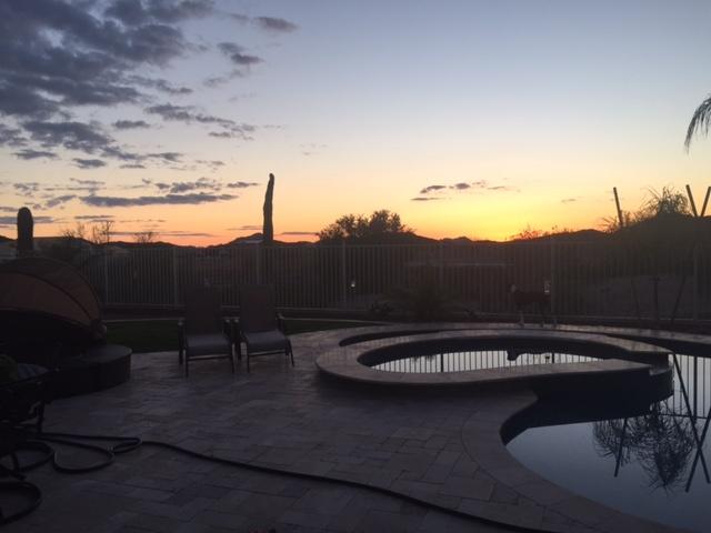 Pool Build Highlight The Gilroy Family Of Avondale Goodyear Arizona