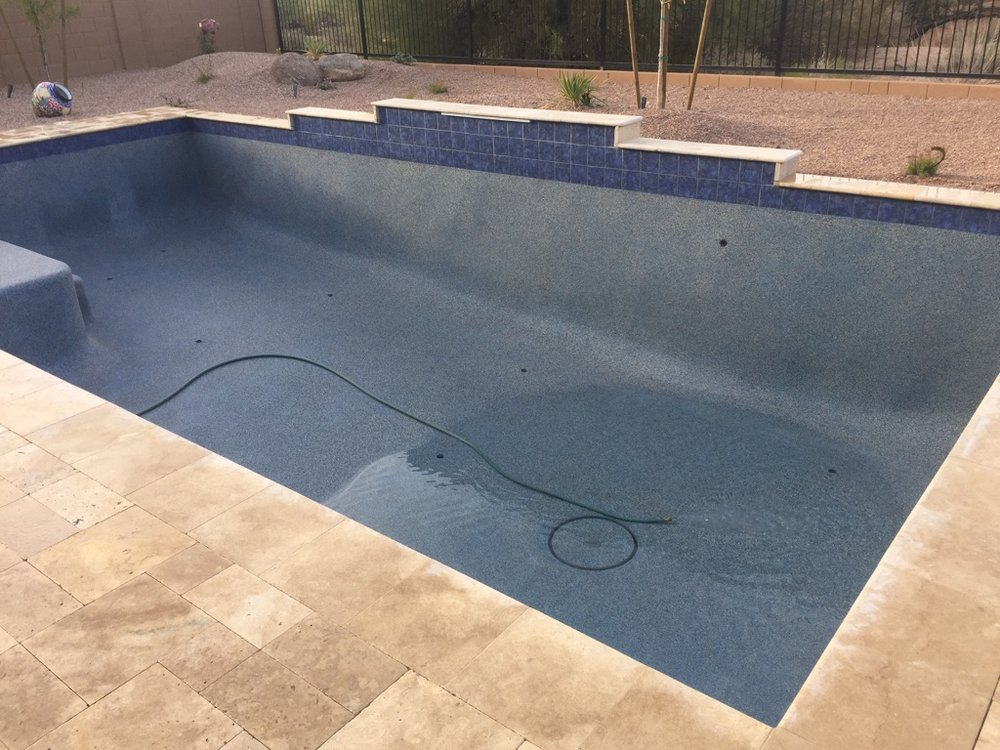 Pool Build Highlight The Malis Family Of Cave Creek Arizona