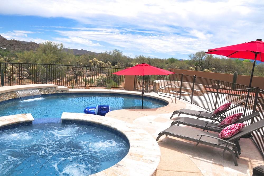 Pool Build Highlight The Duncan Family Of Tucson Az