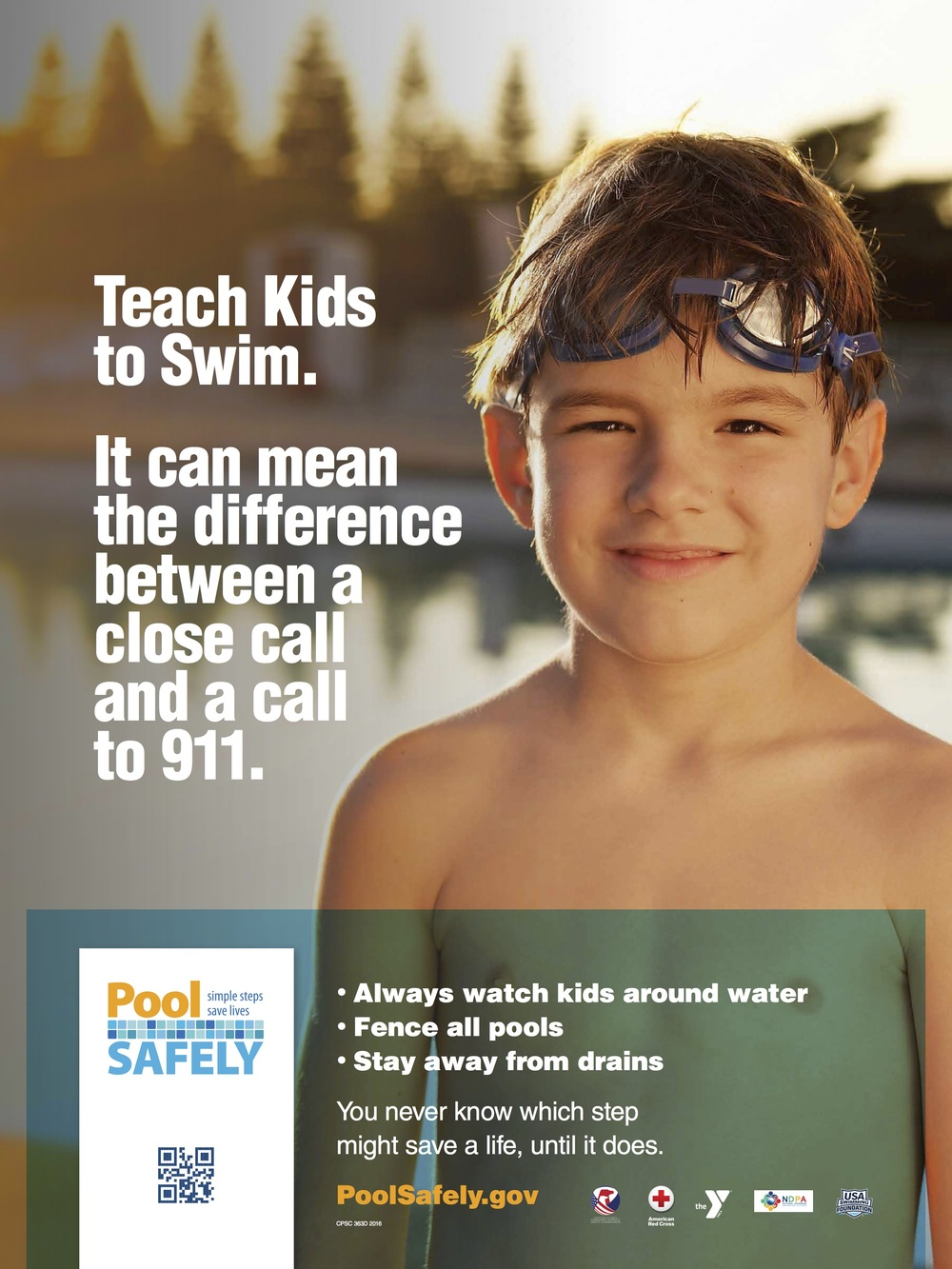BUY A POOL WHILE WE HELP KEEP KIDS SAFE