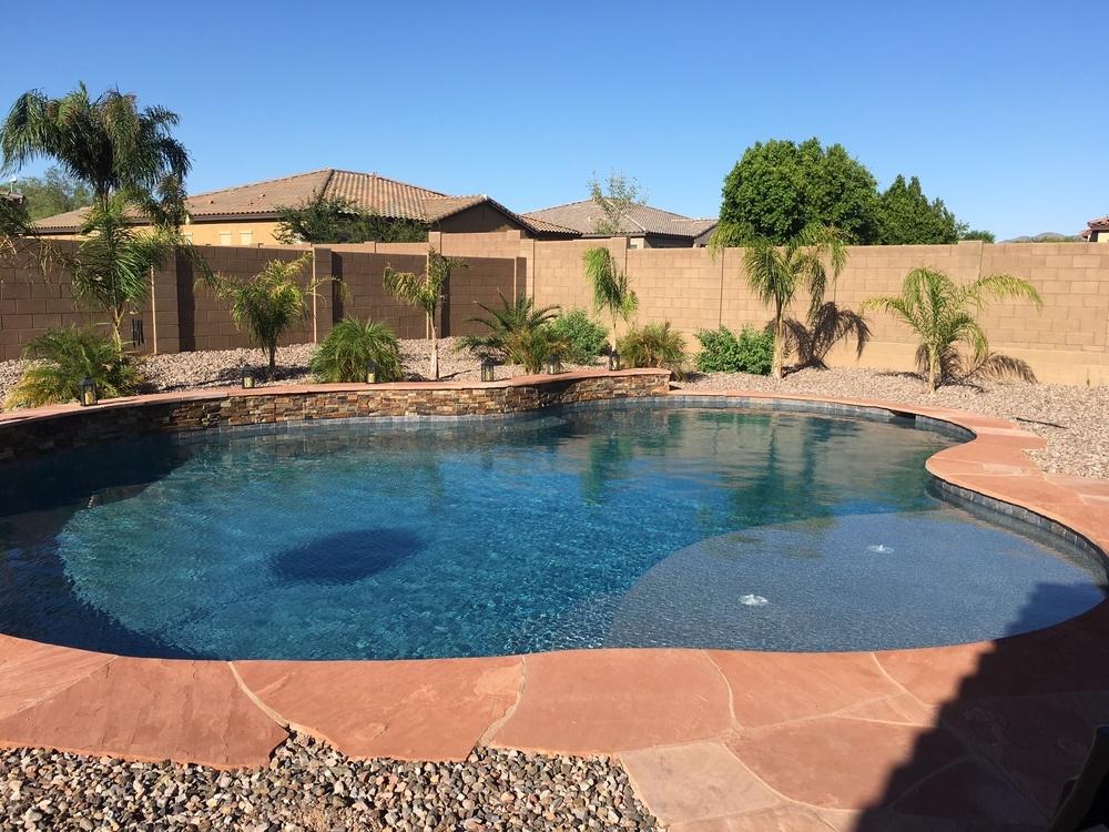 POOL BUILD HIGHLIGHT: THE SHARRETT FAMILY OF LITCHFIELD PARK, AZ