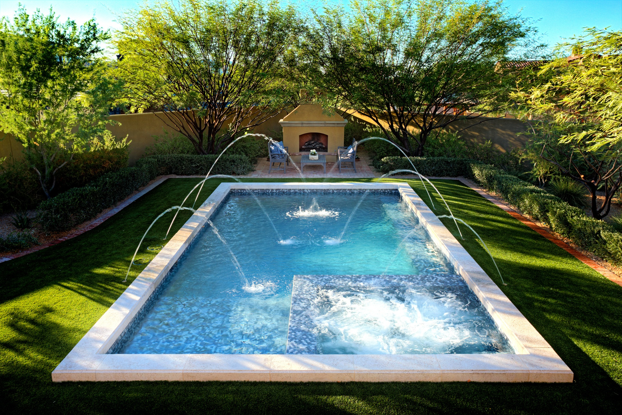 Pool Design Spotlight: Sparkling Serenity in Scottsdale, AZ