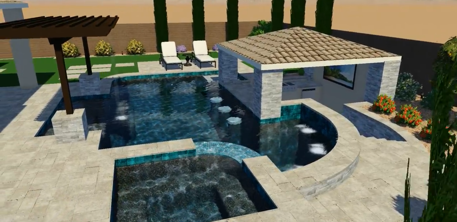 Pool Design Spotlight: A Total Backyard Resort