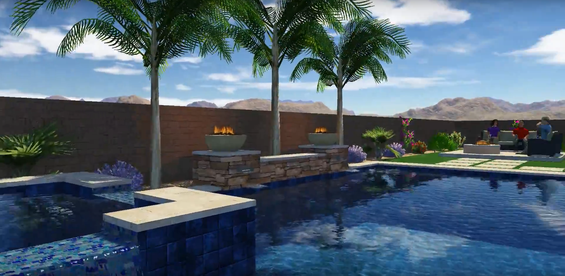 Dream to Reality: The Pierce Family's Backyard Oasis