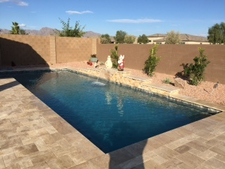 Pool Build Highlight: The Malaney Family of Goodyear, AZ